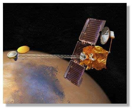 Mars Odyssey. © Nasa