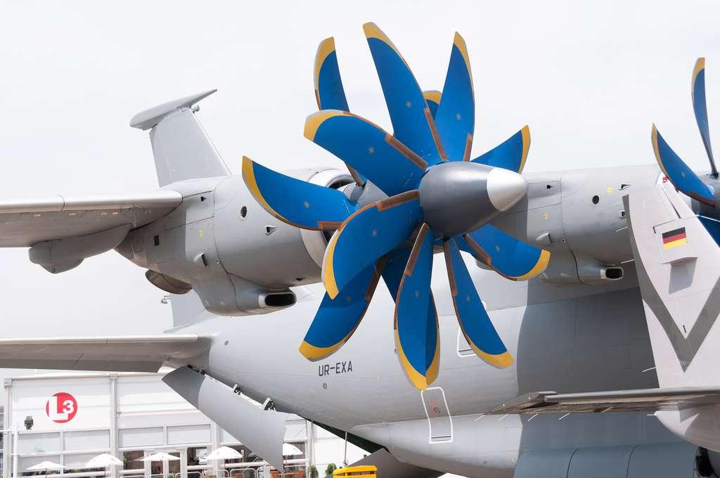 L'Antonov 70 et ses quatre turboréacteurs
