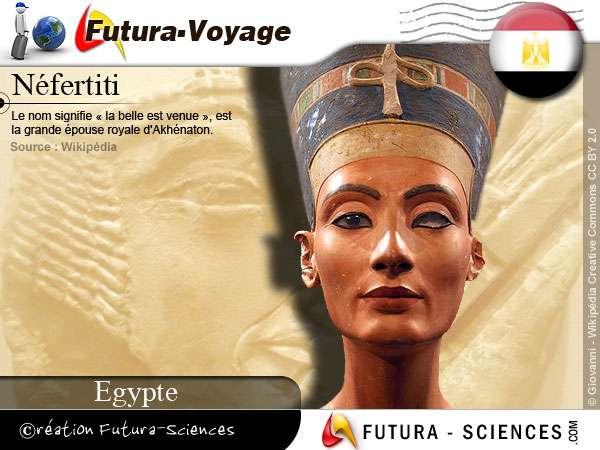 Néfertiti épouse royale d'Akhénaton