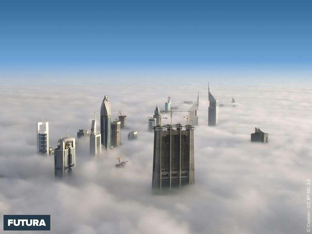 Vue de Dubaï depuis la Burj Khalifa