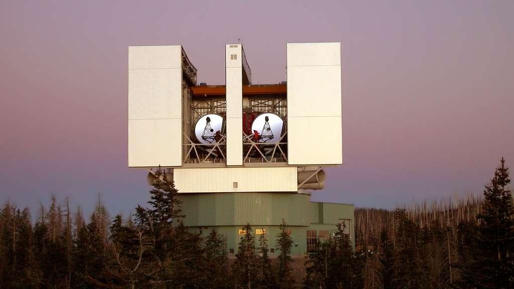 Le grand télescope binoculaire