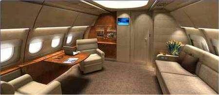 L'A320 Prestige, vu de l'intérieur. Il est spacieux, confortable, pourquoi s'en priver ? © Airbus
