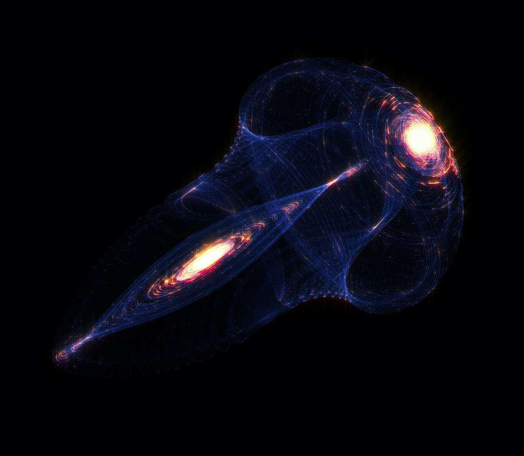 Naukowcy uważają, że niektóre czarne dziury przechodzą kolejne procesy łączenia, aby ostatecznie utworzyć to, co nazywają czarnymi dziurami