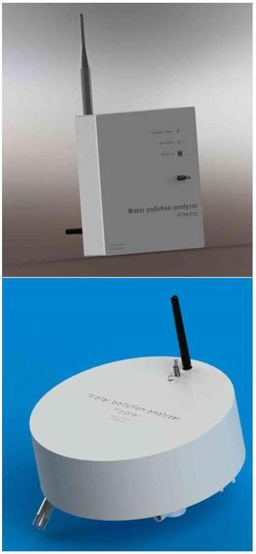 La solution WellCheck se décompose en un flotteur équipé de capteurs qui analysent l'eau des puits et une antenne qui renvoie les données recueillies vers des serveurs distants. Le tout appuyé par une application qui aide à visualiser les informations relatives à la pollution des eaux sur une région. © WellCheck