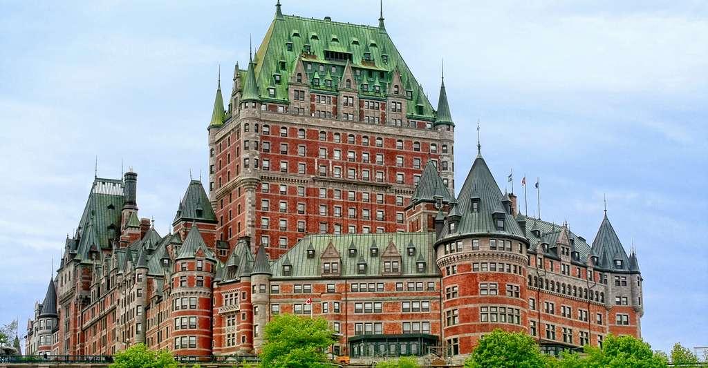 L'hôtel Château Frontenac, à Québec, au Canada