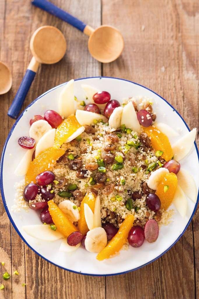 Couscous sucré aux fruits © Catherine Madani