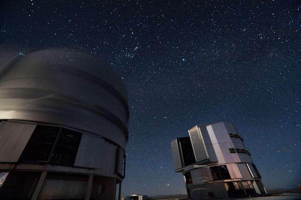 Le VLT est installé au Chili sous l'un des plus beaux ciels de la planète. © Iztok Boncina/ESO