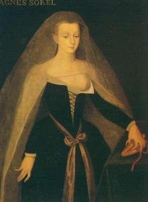 Ce portrait, réalisé par Jean Fouquet, représente Agnès Sorel, la célèbre maîtresse de Charles VII. Elle aurait été empoisonnée au mercure. © Wikimedia Commons, DP