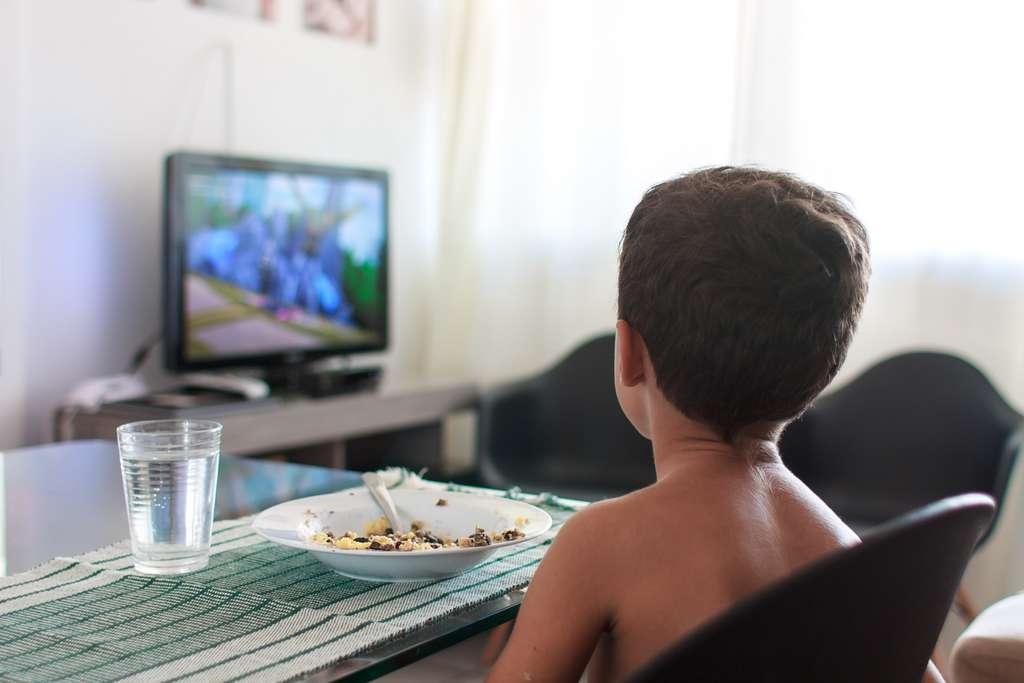 La télévision constitue-t-elle un frein aux interactions verbales de l'enfant avec son entourage familial ? © kleberpicui, Adobe Stock