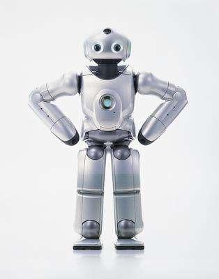 Qrio, le robot humanoïde de service. © Sony