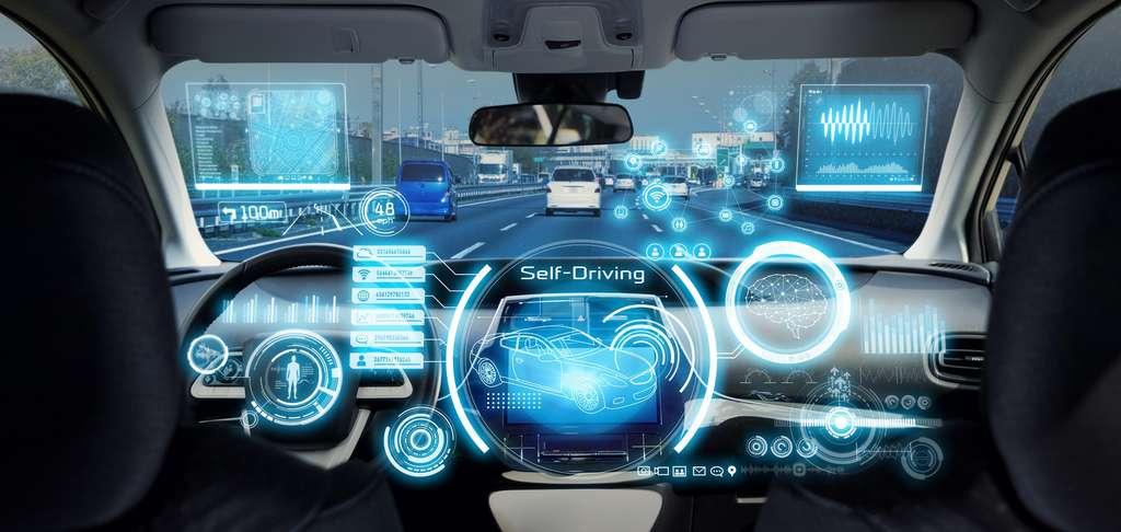 Grâce à l'ingénieur développement et validation ADAS, les voitures autonomes sont désormais une réalité et intègrent de plus en plus d'intelligence artificielle et de capteurs. ©metamorworks, Adobe Stock.