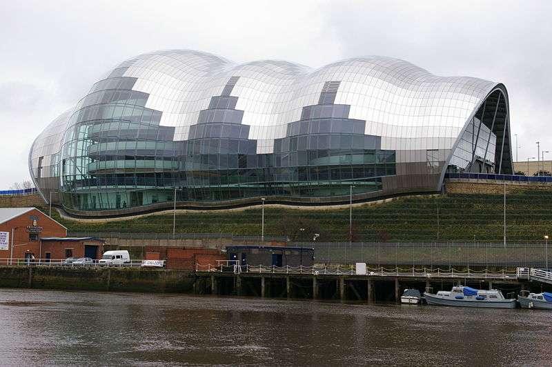 Le Sage Gateshead, de l'architecte Norman Foster, en Angleterre