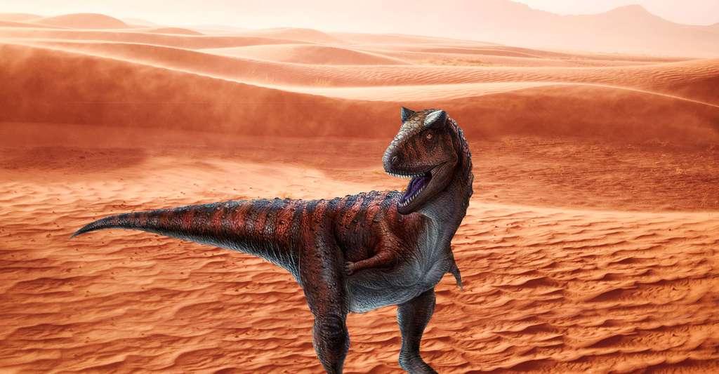 Carnotaurus sastrei. © Lida Xing and Yi Liu, CC by 2.5