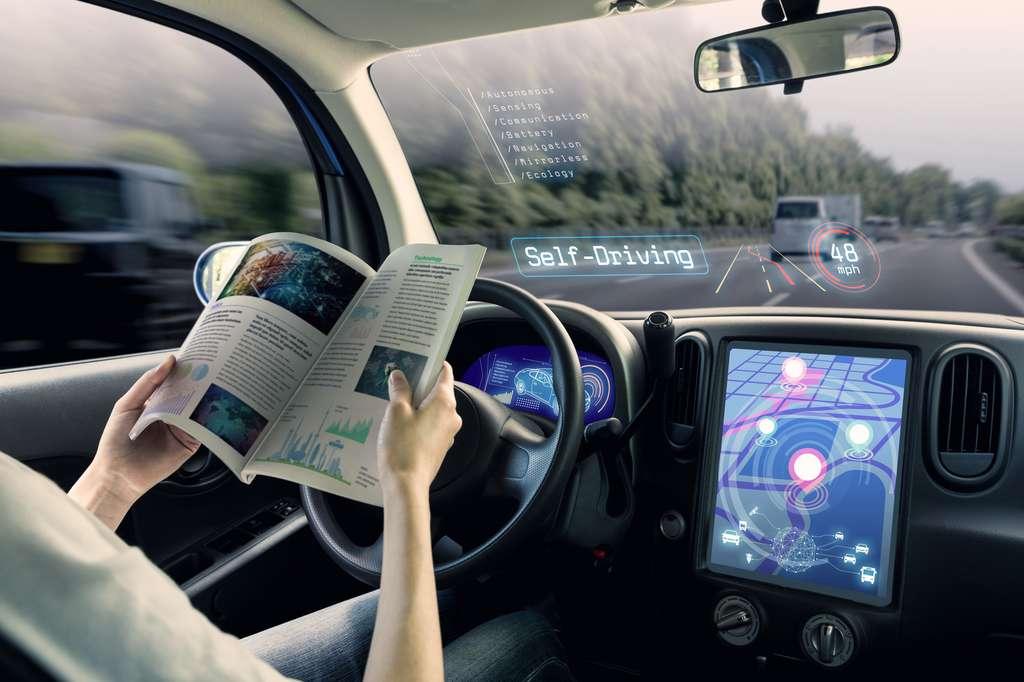 Le big data est l'avenir de l'automobile. Grâce à lui, les véhicules vont devenir autonomes au point que les acteurs de la high-tech contribueront certainement plus que les marques auto à son développement. © Metamorworks, Fotolia