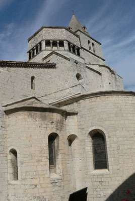 La cathédrale de Sisteron.