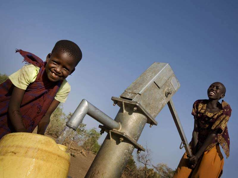 Beaucoup de Somaliens et de Turkanas (Afrique de l'Est) se sont rendus au camp de réfugiés de Kakuma au Kenya en raison d'un manque d'eau et de nourriture sur leurs terres. © Kate Holt
