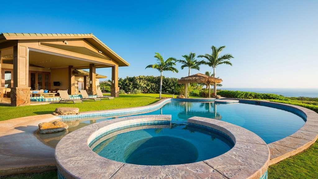 Villa tropicale avec vue sur l'océan