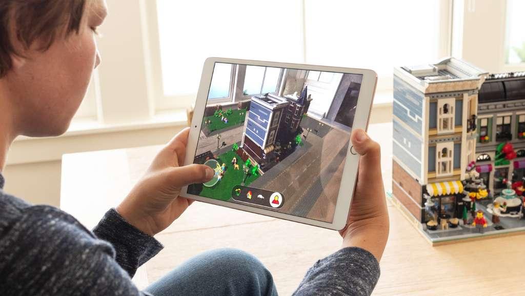 ARKit : la réalité augmentée avec iOS. © Apple