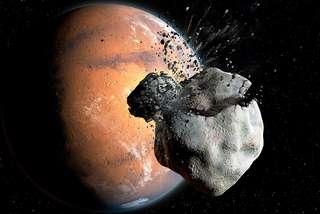 Rebondissement avec l'origine énigmatique de Phobos et Deimos, les lunes de Mars