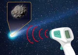 Découverte d'une comète couverte de talc !