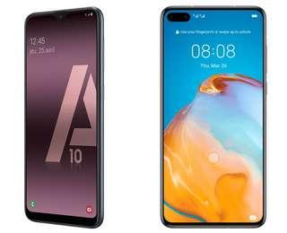 Soldes 2021 : le Samsung Galaxy A10 à 126,98 € et le Huawei P40 à 404 € chez Rakuten