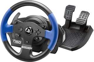 Prime Day Amazon : 40 € de réduction sur le volant de course  Thrustmaster T150 pour PS4 et PC