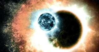 Un impact géant a soufflé l'atmosphère de cette jeune exoplanète