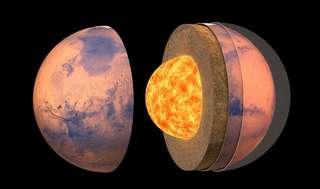 L'intérieur de Mars révélé par InSight