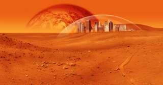 Ces bactéries pourront aider l'être humain à coloniser Mars
