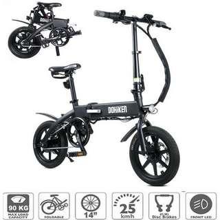 Profitez de 429 € de réduction sur le vélo électrique pliable DOHIKER KSB14