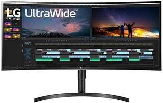 Bon plan Amazon : le moniteur incurvé LG UltraWide 38WN75C-B à -100 €