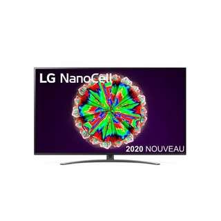 Bon plan Fnac : économisez 100 € sur la TV LG 55NANO816NA
