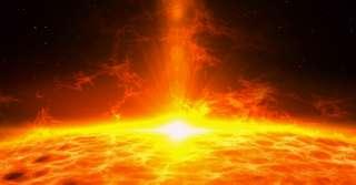 L'hémisphère nord serait plus frappé par le vent solaire que le sud