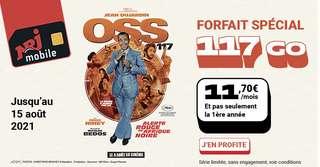Forfait mobile : 117 Go pour seulement 11,70 €/mois même après un an sur le réseau Bouygues Telecom
