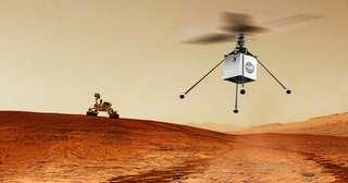 Le drone-hélicoptère, attaché sur le ventre de Perseverance, a atterri en bon état