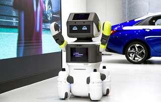 Hyundai fait appel à un robot pour mieux vendre ses voitures