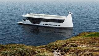 Drakkar S, le bateau électrique autonome qui se pilote avec un smartphone