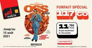 Promo XXL : Un forfait mobile avec 117 Go à 11,70 €/mois sur le réseau Bouygues Telecom