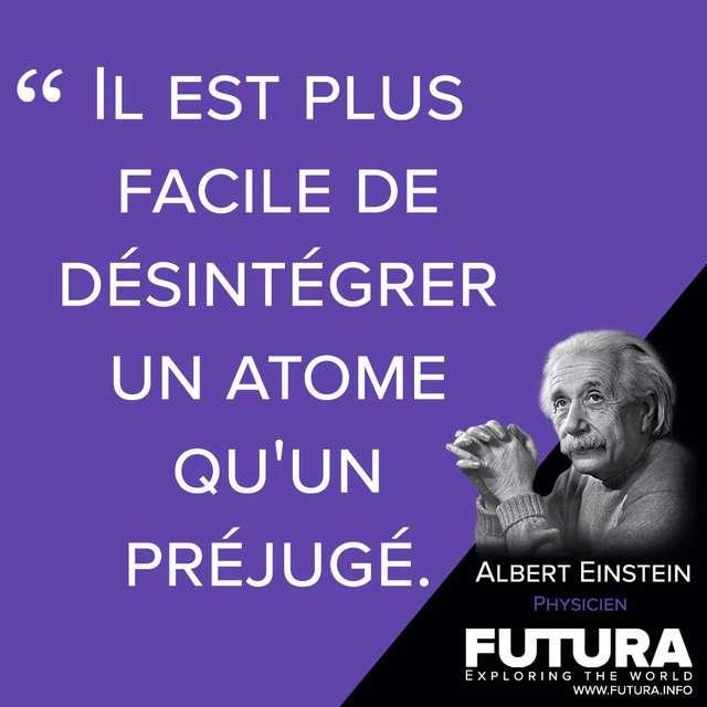 Citations Albert Einstein Physicien Futura Sciences