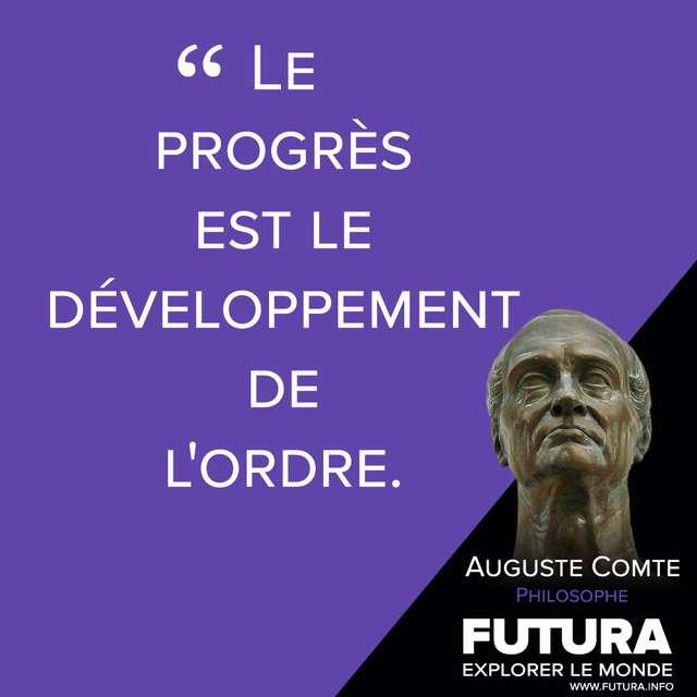 Citations Auguste Comte Philosophe Futura Sciences