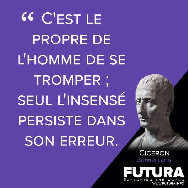 Citations Ciceron Auteur Latin Futura Sciences