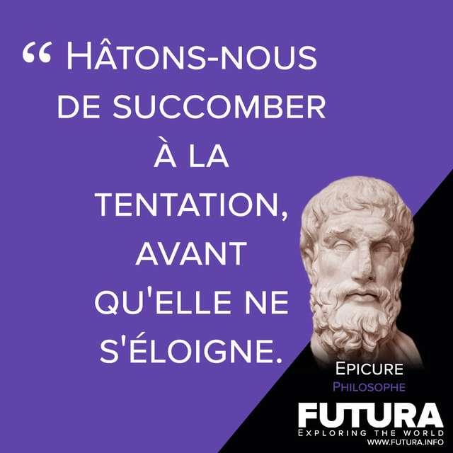 Citations Epicure Philosophe Futura Sciences