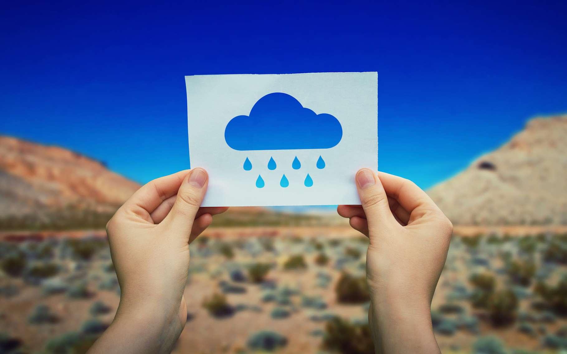À défaut de pouvoir faire tomber la pluie dans les zones arides, des chercheurs proposent d'extraire l'humidité de l'atmosphère pour la transformer en eau potable. © Bulat, Fotolia