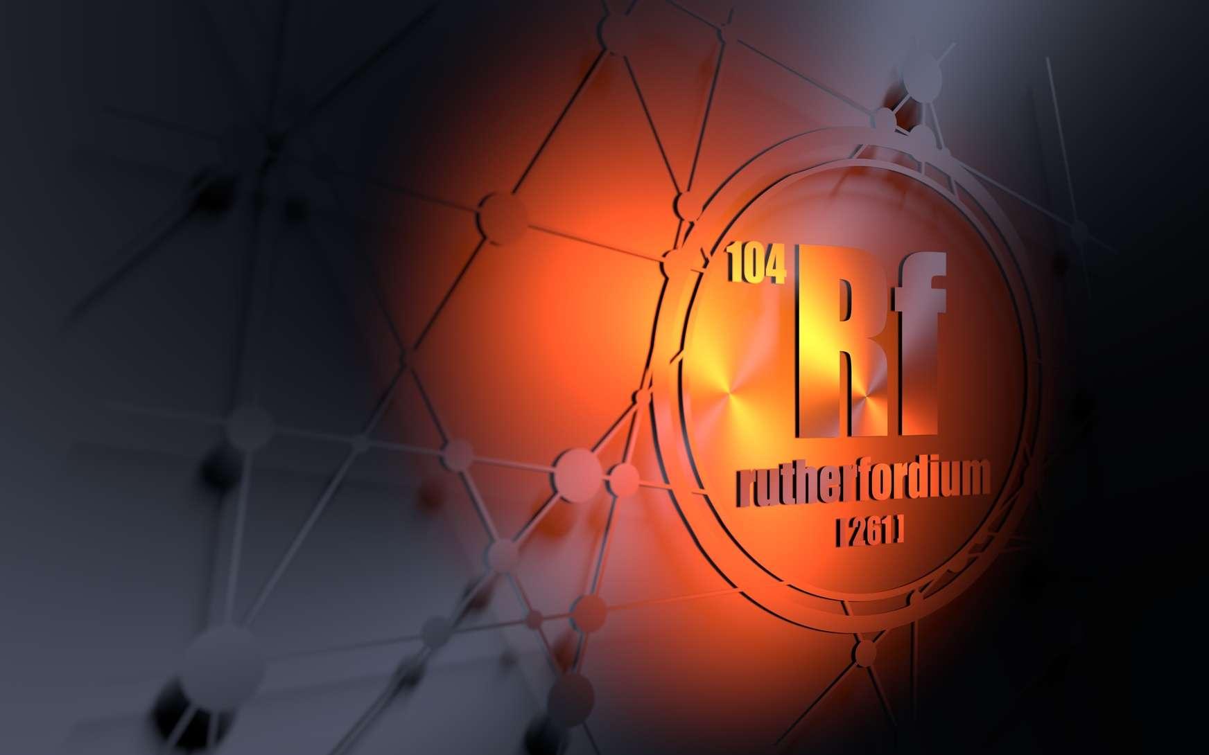 Le rutherfordium a été baptisé en l'honneur d'Ernest Rutherford, un physicien et chimiste britannique, considéré comme le père de la physique nucléaire. © JEGAS RA, fotolia