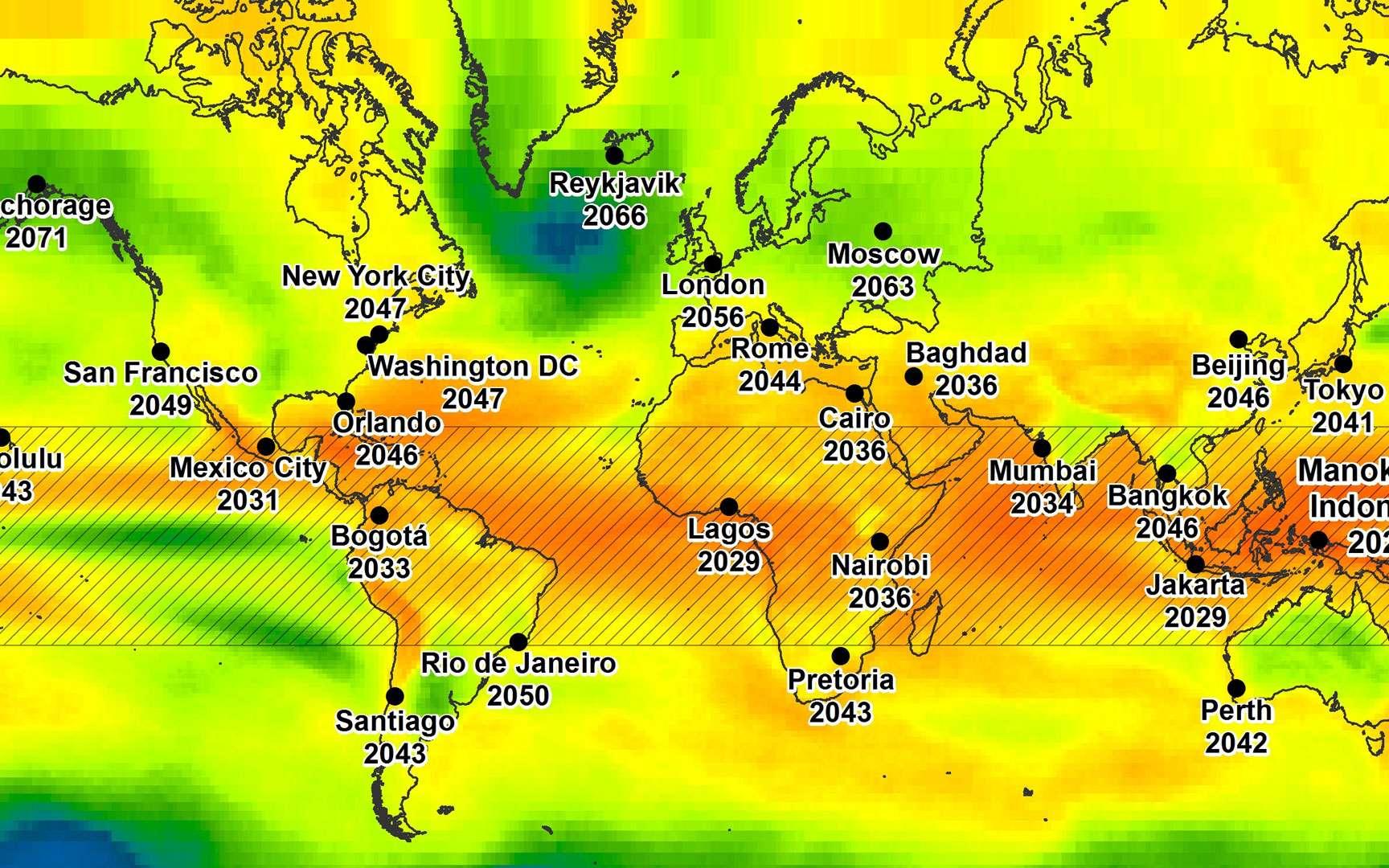 Les prévisions météo de 2050 seraient-elles déjà devenues réalité ?