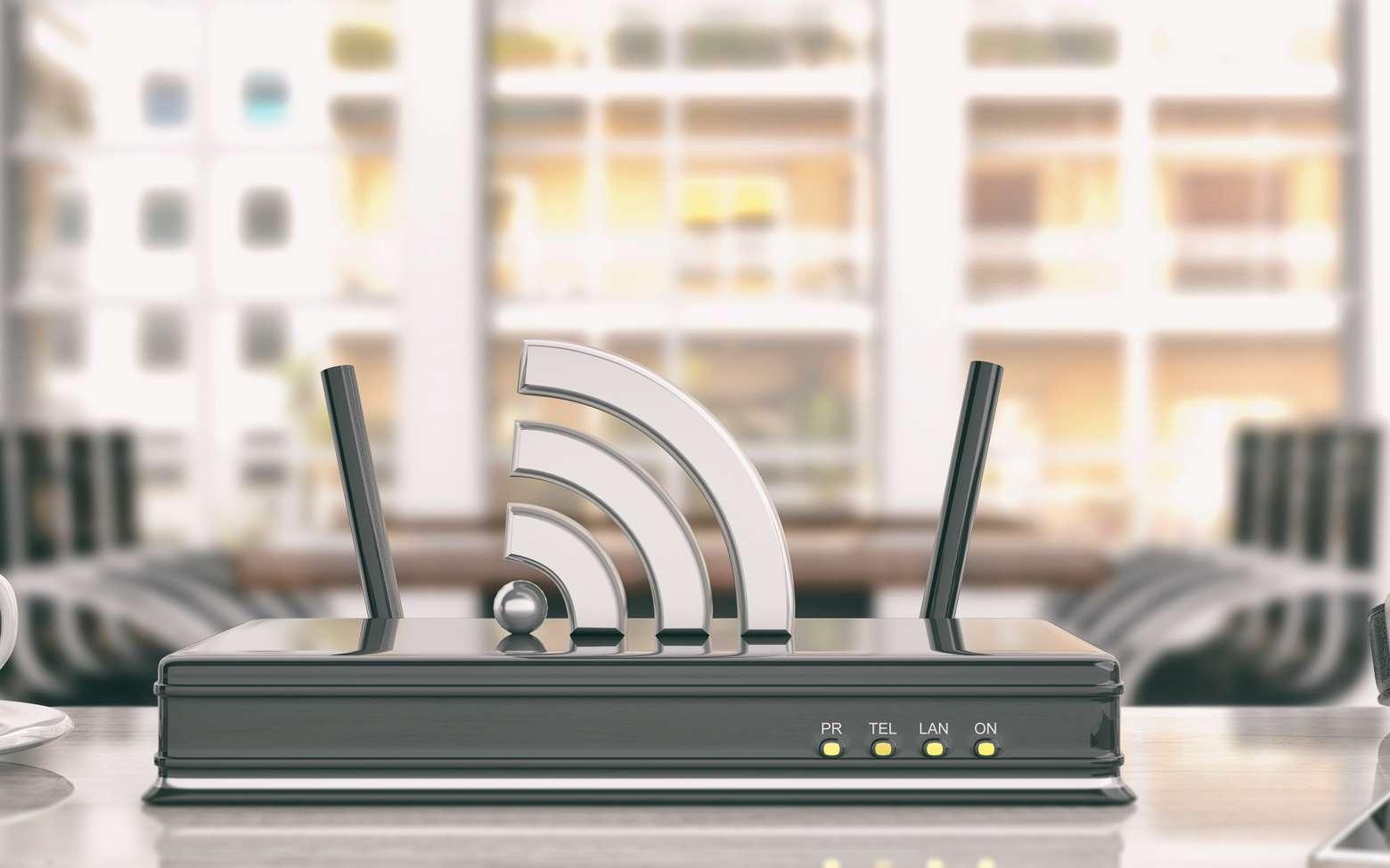 Dans un réseau électronique, le routeur est un appareil qui prend notamment en charge le routage des paquets de données transmis sur le réseau. © Rawf8, fotolia