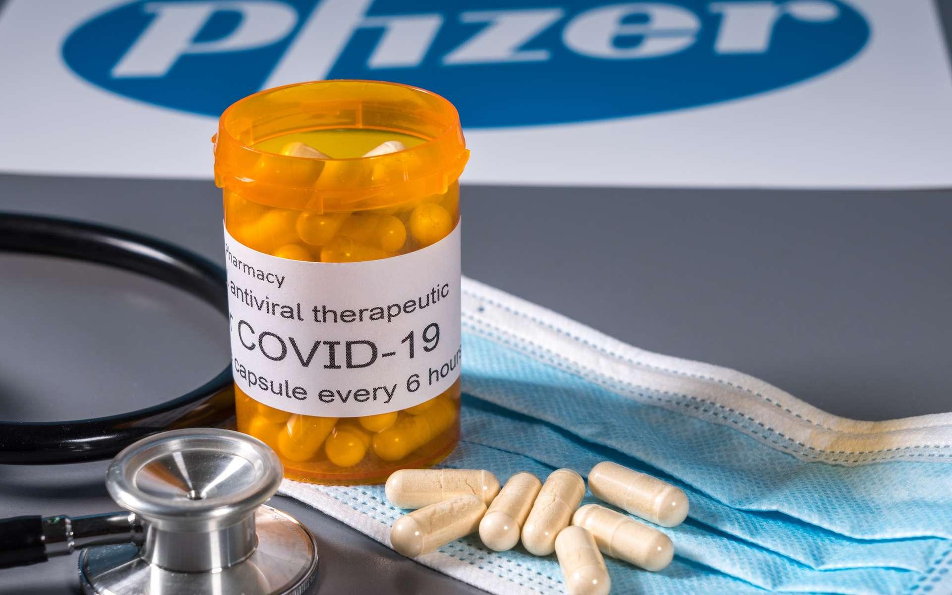 Après son vaccin, Pfizer teste un antiviral contre la Covid-19. © steheap, Adobe Stock