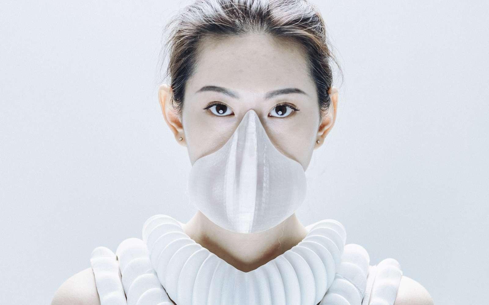 Le masque Amphibio pourrait nous transformer en poisson ! © Mikito Tateisi/Model