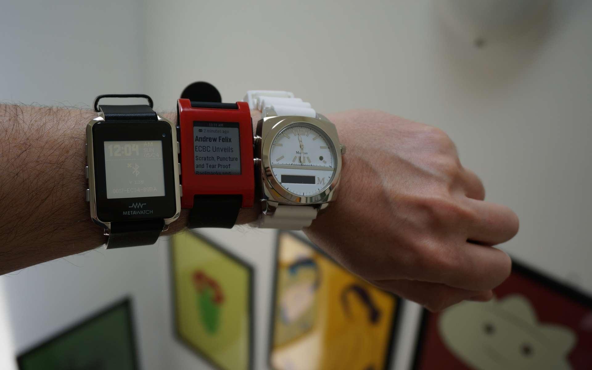 Alors que les montres connectées commencent à gagner en popularité, Hewlett-Packard a évalué le niveau de sécurité de ces gadgets qui concentrent beaucoup de données personnelles sensibles. Le bilan est plutôt inquiétant. © Adam Dachis, Flickr, CC BY 2.0