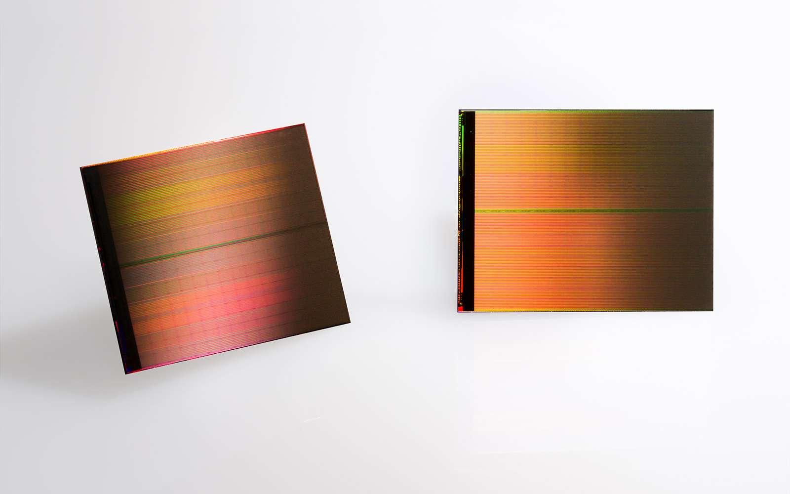 La mémoire flash 3D est appelée à succéder à la mémoire flash classique. © Intel